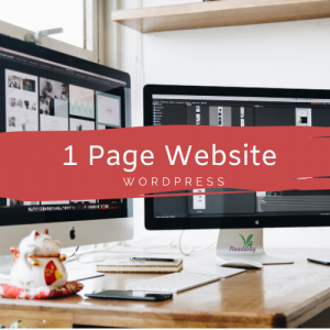 1 Page WordPress Websites