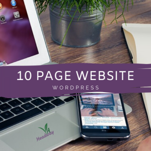10 Page WordPress Website