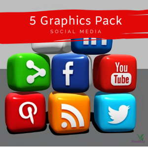 5 Graphics Pack for Social Media